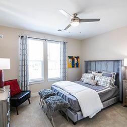 Model Interior Bedroom