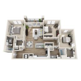 C2A floor plan